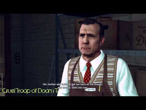 L.A. Noire: Perfect Interrogation - Robbins At Liquor Store [Studio Secretary Murder Case]