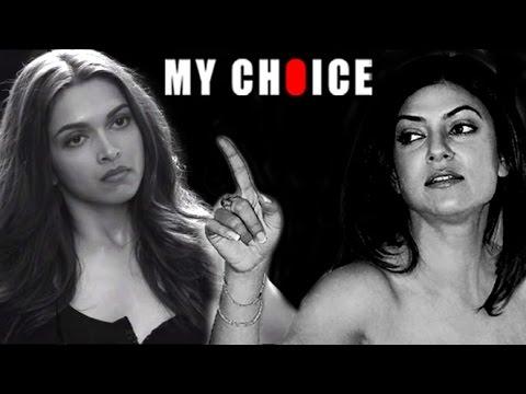 Sushmita Sen's SHOCKING Reaction To Deepika's My Choice Short Film 2015