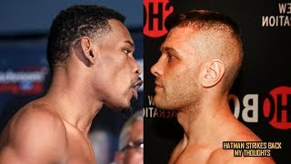 DANNY JACOBS VS DEREVYANCHENKO - SIGNED!!! OCTOBER!!! VACANT IBF TITLE!!!