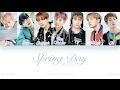 [HAN|ROM|ENG] BTS (방탄소년단) - Spring Day (봄날) (Color Coded Lyrics)