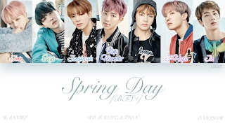 [HAN|ROM|ENG] BTS (방탄소년단) - Spring Day (봄날) (Color Coded Lyrics)