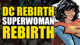 DC Rebirth: Superwoman Rebirth #1