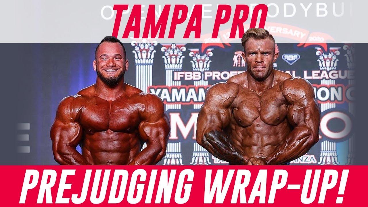 2020 Tampa Pro Prejudging Open Bodybuilding Review! Hunter Labrada vs Iain Valliere
