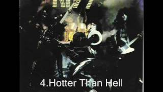 Kiss - Hotter Than Hell ( Alive! 1975 )