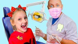 История о том как Ястася не хочет лечить зубы