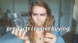 THE 5 WORST ZERO WASTE PRODUCTS // products you don't need to buy