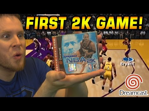 FIRST NBA 2K GAME! DREAMCAST THROWBACK!