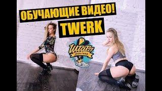 Урок ТВЕРКА (TWERK, BOOTY DANCE) / Обучающие видео / Штат27