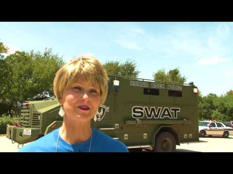 SWAT Delivers School Supplies to Voigt Students - Round Rock ISD