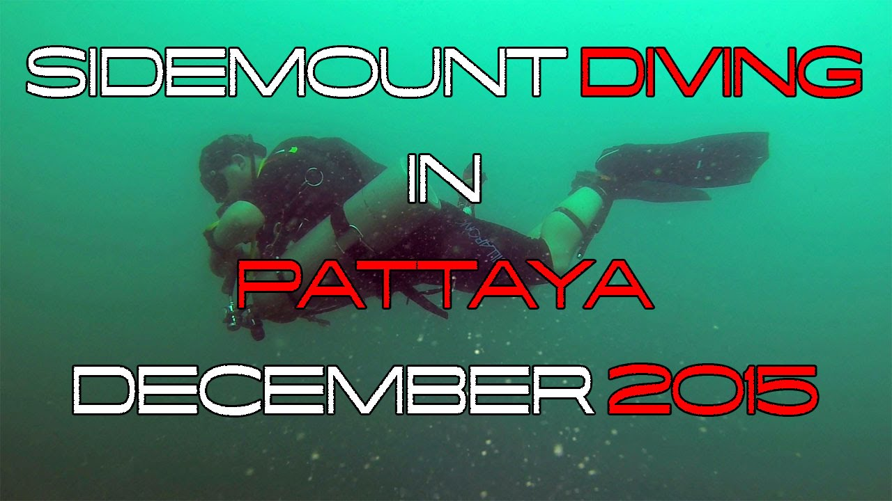 Sidemount diving in pattaya december 2015 youtube - Dive rite sidemount ...