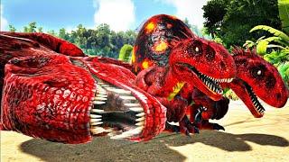 Irmãozinhos Indoraptor Orfãos: Caçaram O Papai e a Mamãe! Dinossauros Ark Survival Evolved (PT/BR)
