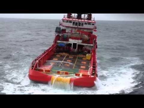 Cuaca buruk di Bintulu Offshore