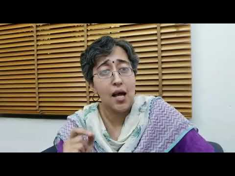 Atishi Marlena appeals to Delhi Citizens to join the March to LG House tomorrow, 4 PM from CM House.