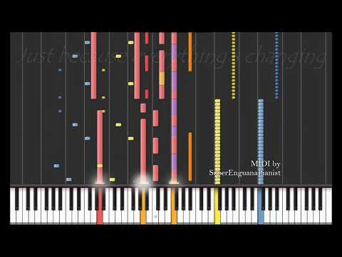 Regina Spektor - The Call (Synthesia) [with Lyrics] ♫