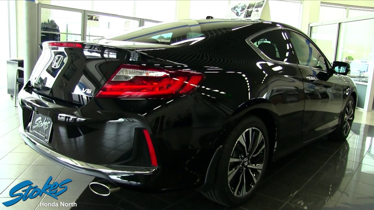 2016 honda accord coupe exl for sale walkaround review showroom at stokes honda youtube. Black Bedroom Furniture Sets. Home Design Ideas