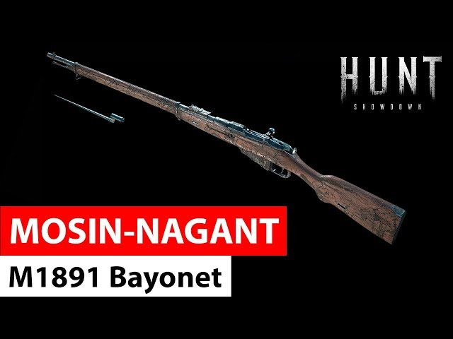 Mosin-Nagant M1891 Bayonet | Hunt: Showdown