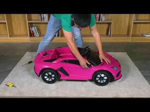 "Uenjoy – ""Lamborghini Aventador SVJ"" Assembly Video"