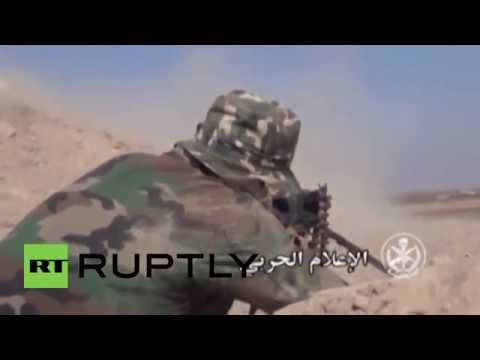 Syria: Syrian military releases explosive Latakia operation footage