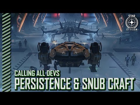 Star Citizen: Calling All Devs - Persistence, Snub Craft and Landing Systems