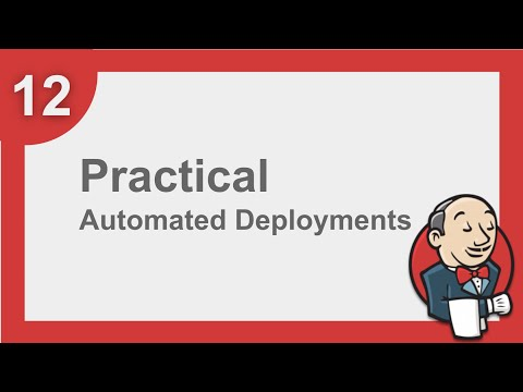 Jenkins Beginner Tutorial 11 - How to do Automated Deploymen