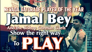 Nevada Gatorade Player of the Year Jamal Bey Stays Humble