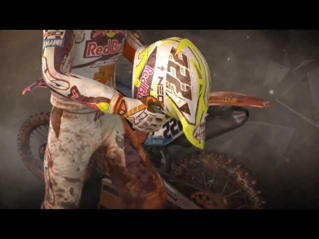 MXGP The Official Motocross Videogame - Announcement Trailer