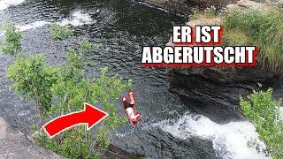 Die besten Fails \u0026 Outtakes // Sprung aus 20 Metern geht schief?!
