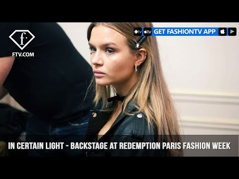 Josephine Skriver & Sara Sampaio Backstage Redemption Paris Fashion Week S/S 18 | FashionTV | FTV