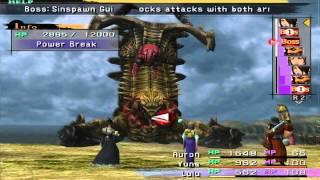 Final Fantasy X (PS2) walkthrough - Mushroom Rock Road