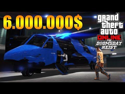 GTA V Online : Doomsday Heist | MAMMOTH AVENGER 6.000.000$ CENTRO DE COMANDO