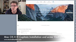 Mac OS X El Capitain Installation und erster Eindruck