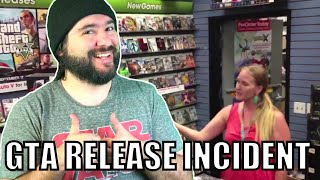 gta v release incident gamestop manager threatens customer   8 bit eric