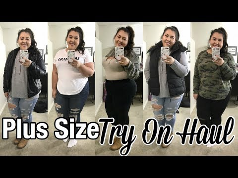 PLUS SIZE TRY ON HAUL! | American Eagle + Old Navy | CurvyStylexoxo