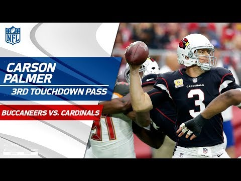 Carson Palmer Tosses 3rd TD Pass vs. Tampa Bay! | Buccaneers vs. Cardinals | NFL Wk 6 Highlights