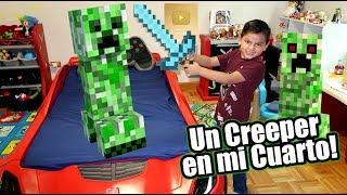 Un Creeper en Mi Cuarto   Especial 1 Millon de Suscriptores   Juegos Karim Juega