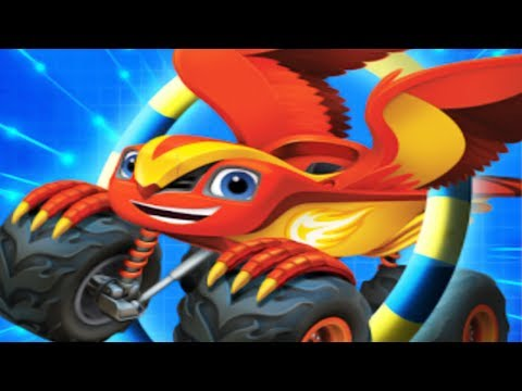 Blaze and the Monster Machines: Blaze Obstacle Course - Blaze and Monster Machines Transformation