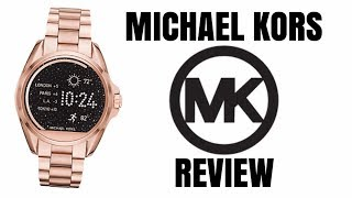 MICHAEL KORS Smart watch review 2018