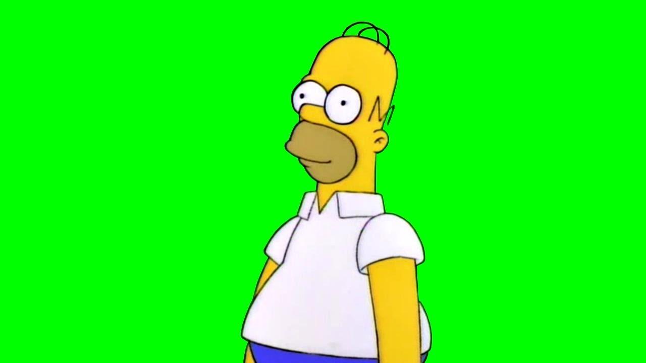 "Chroma Key] Homer Simpson ""Oh, okay."" (The Simpsons) - Green Screen -  YouTube"