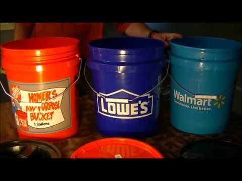 5 Gallon Utility Buckets And Lids Reviews And Testing