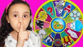مريومة خافت من عجلة السحرية !!story about Magic wheel