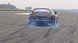 1050HP Toyota Supra Turbo INSANE 0-296 km/h LAUNCH!