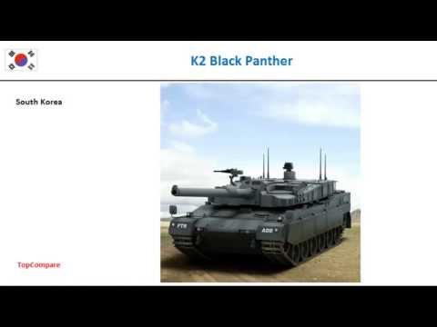 Al-Khalid vs K2 Black Panther, Tank Key features