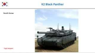 Al-Khalid vs K2 Black Panther, Tank Key features