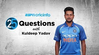 25 questions with Kuldeep Yadav