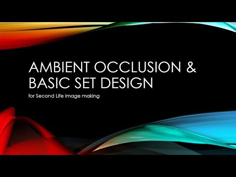 Phototools Tutorial 10 - Ambient Occlusion and Basic Set Design