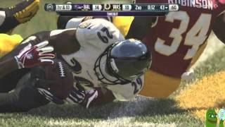 Madden 16-GAME OF THE YEAR! UNBELIEVABLE!-Madden NFL 16 Online Gameplay Redskins Vs. Ravens