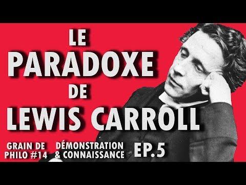 LE PARADOXE DE LEWIS CARROLL - Grain de philo #14 (Ep.5)