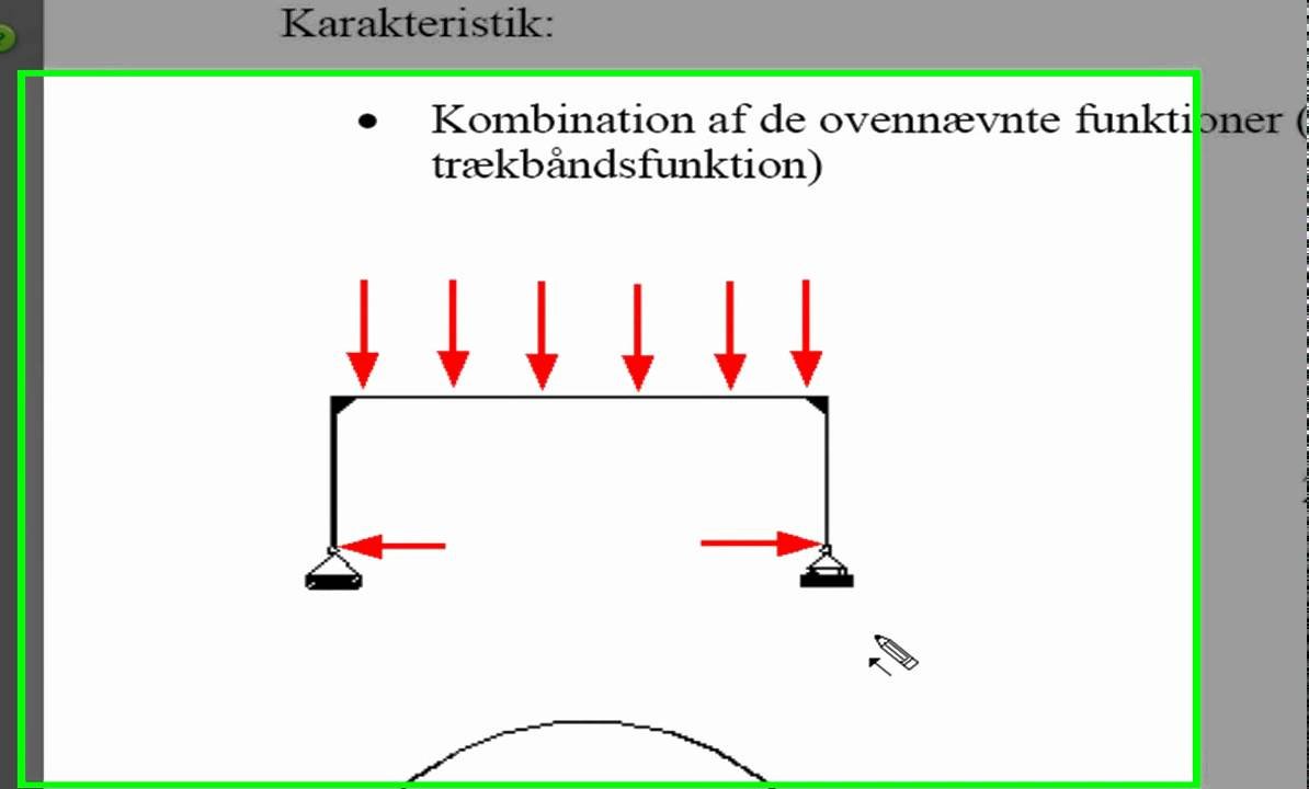 Statisk analyse part 7 Rammekonstruktion