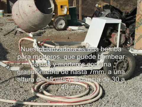 Pft zp3 xl mix mezclar y proyectar arena y cemento mi for Mortero de cemento