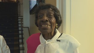 VIRGINIA, BLACK 99-year-old woman loves her job